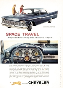 Chrysler Windsor 1959 Magazine Print Ad