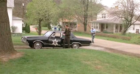 "F-85 in use as a police car in ""Silence of the Lambs"""
