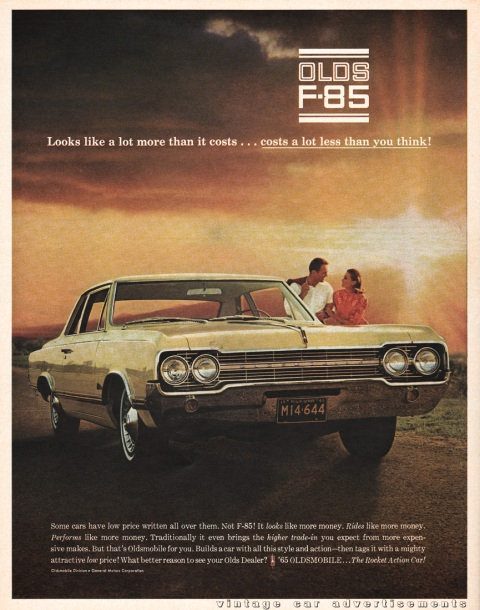 1964 Oldsmobile F-85 Print Advertisement