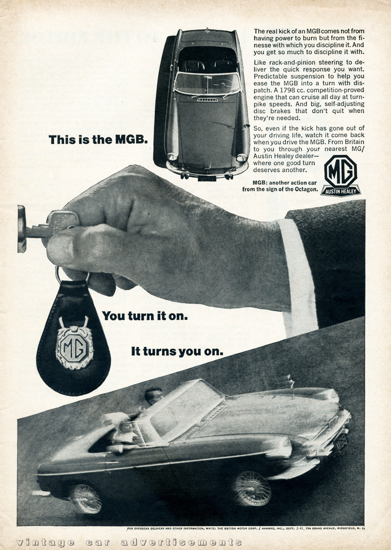 Vintage Car Advertisements