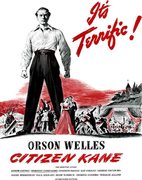 Floyd Davis poster for the film Citizen Kane
