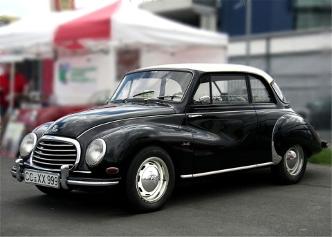 Photo of a DKW vintage automobile by Lothar Spurzem