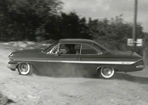 1961 Chevy Impala as used in the TV show The Saint, which starred Roger Moore